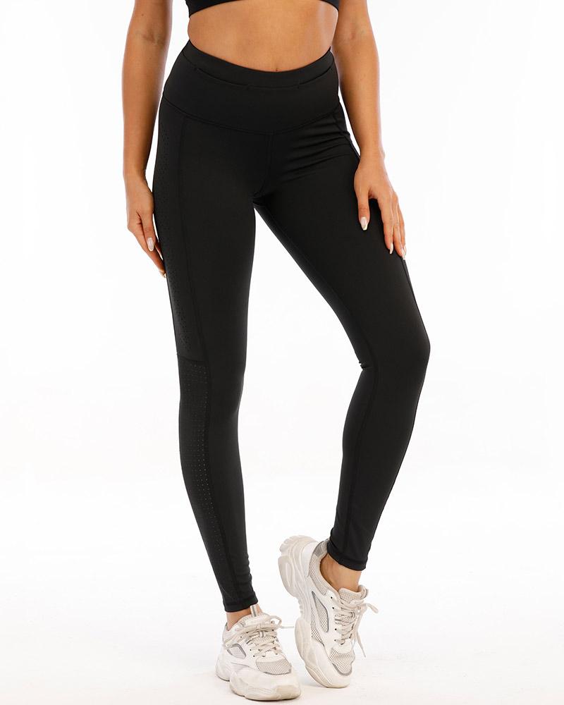 Women's superior training tights, black