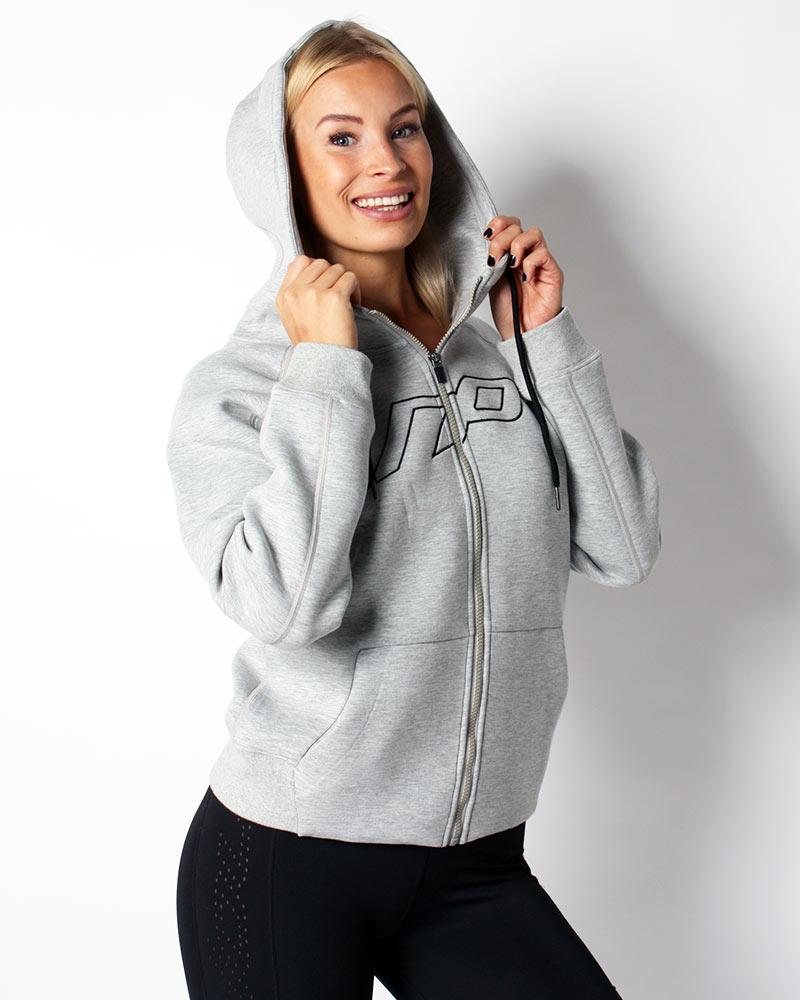 Casual fit hoodie, light grey