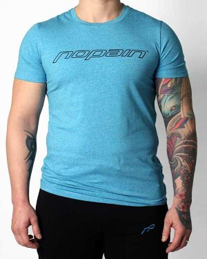 Miesten casual tee, blueberry