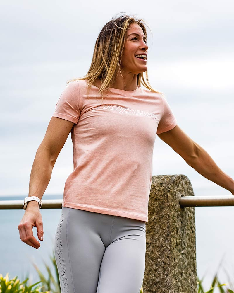 Women's casual tee, moctail