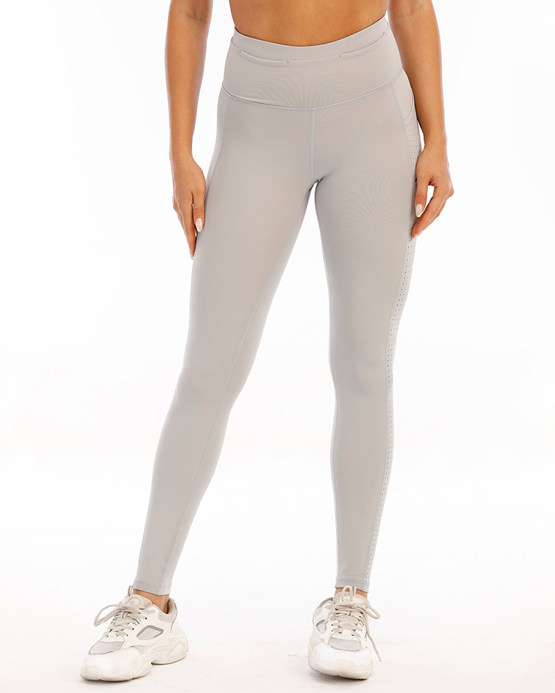 women's superior training tights, ultimate gray