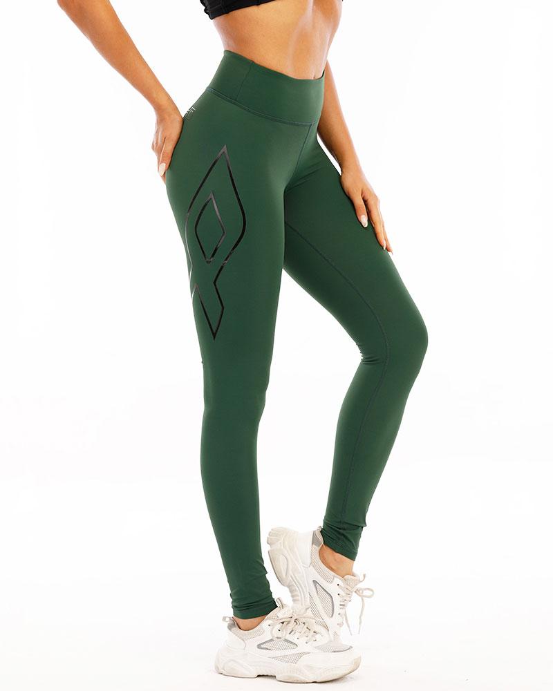 nopain-naisten-elite-kompressiotrikoot-green