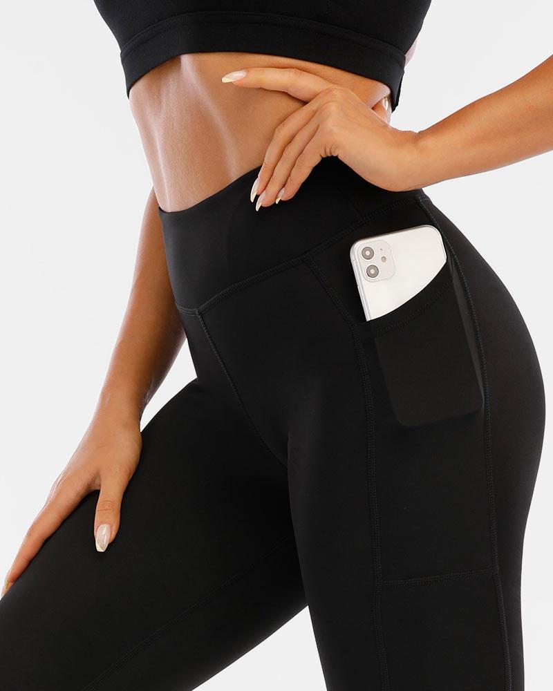 Women's elite compression tights, full black